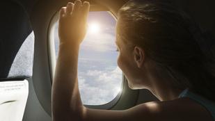 Ezért kéne naptejet használnod a repülőn