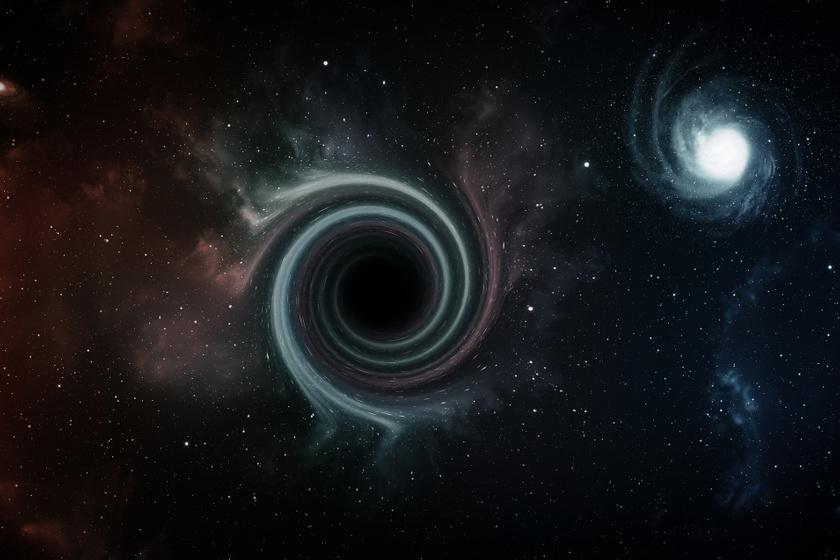 fekete es feher lyuk