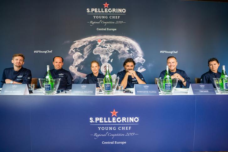 A zsűri (b-j): Marcin Popielarz, Tristan Brandt, Cornelia Poletto, Konstantin Filippou, Tim Raue, Iwona Niemczewska