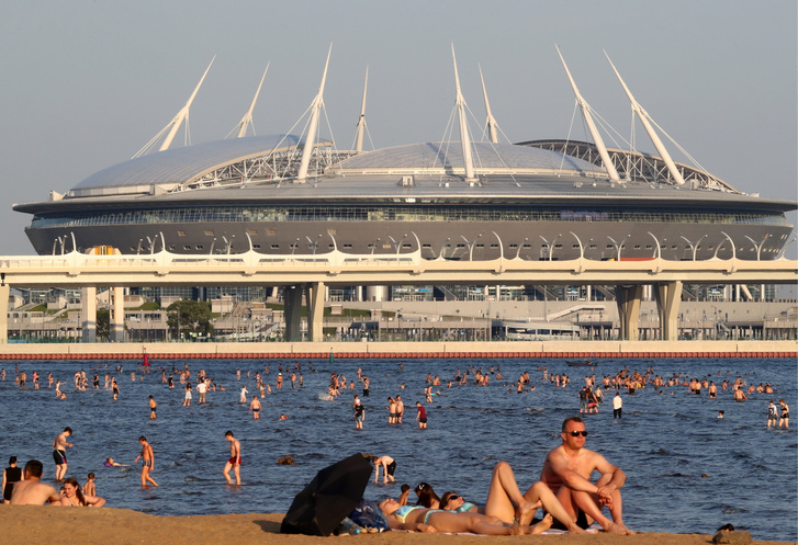A Gazprom Arénaként is ismert Kresztovszkij Stadion
