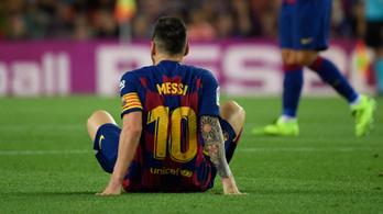 Nyert a Barcelona, de Messi megsérült