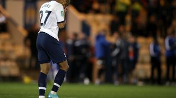 Negyedosztályú verte ki a Tottenhamet