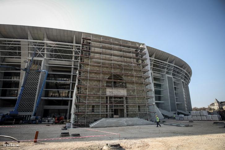 Vajon ide is jut majd UEFA fa? Puskás Aréna építkezése április 2-án