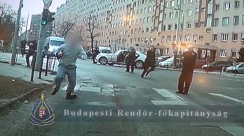 Üres tárral menekült a szökött rab a februári autós üldözésben