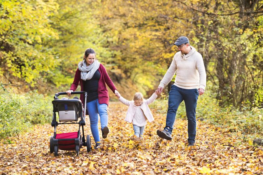 A legszebb babakocsis túraútvonalak itthon: akadálymentesek, és ősszel aranyszínben pompáznak