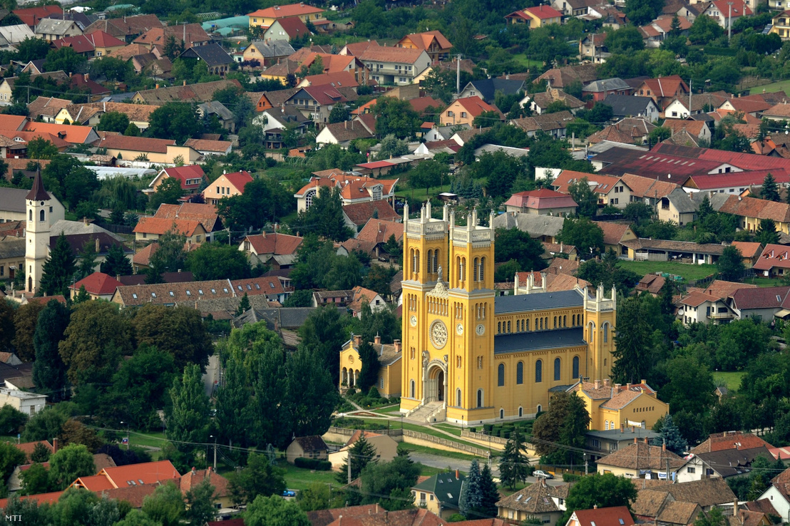 A Pest megyei Fót látképe