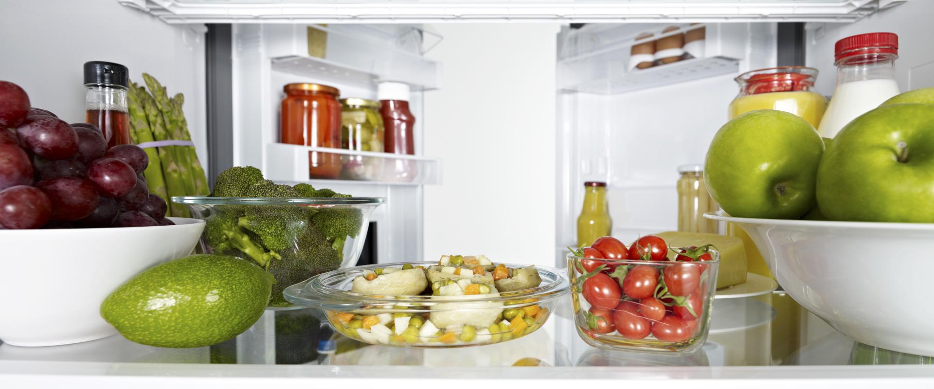 hűtőszekrény rendszerezés