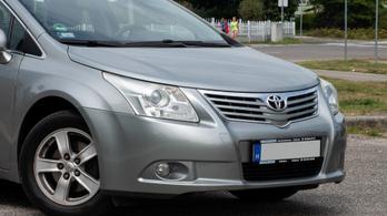Használtteszt: Toyota Avensis 2.0 D-4D – 2009.
