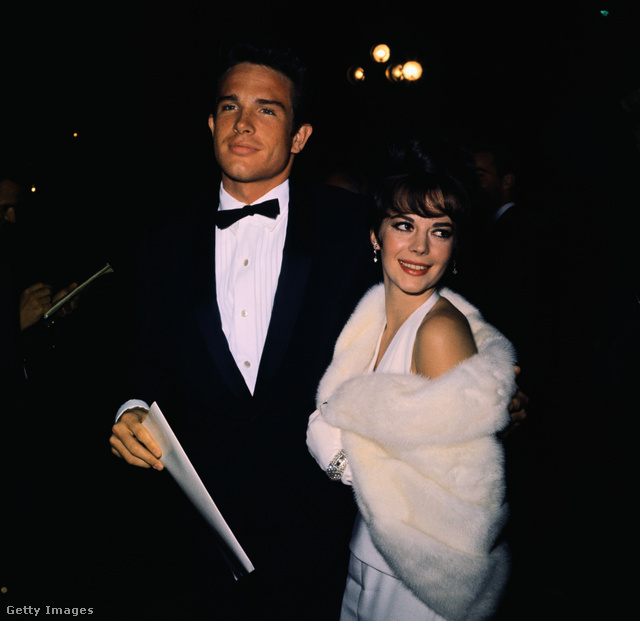 Warren Beatty és Natalie Wood 1961-ben