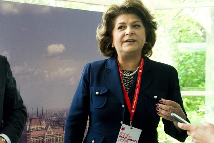 Rovana Plumb román munkaügyi miniszter