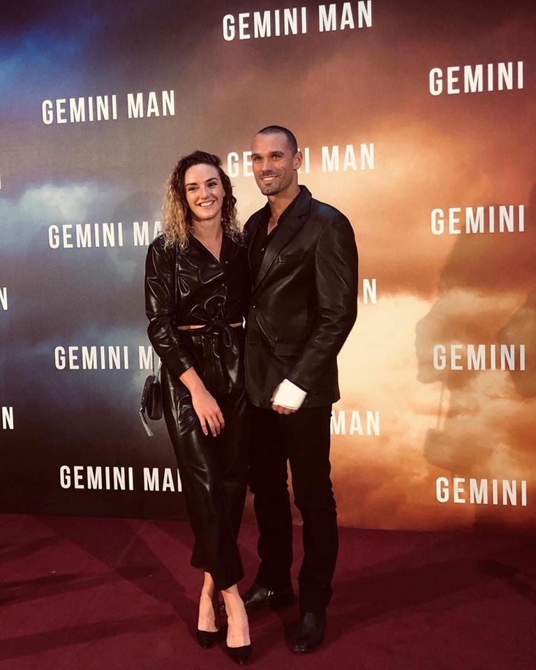 Hosszú Katinka és párja, Máté a Gemini Man premierjén először jelent meg nyilvános rendezvényen.