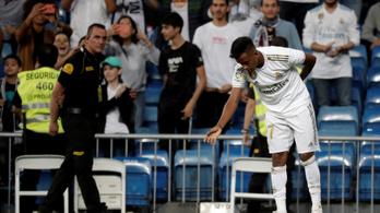 1 perc után gólt lőtt élete első Real Madrid-meccsén