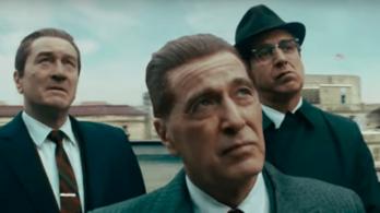 Martin Scorsese új gengszterfilmje szédületes előzetest kapott