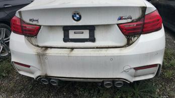 Így néz ki egy telepnyi nullkilométeres, vízkáros BMW