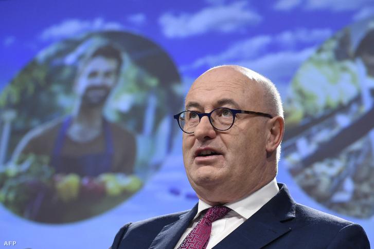 Phil Hogan, az EU hamarosan távozó mezőgazdaságért felelős ír biztosa
