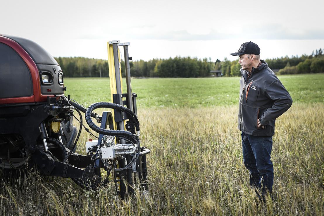 A talaj felső rétegének széntartalmát mérik Finnországban
