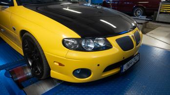 Totalcar Erőmérő: Pontiac GTO LS1