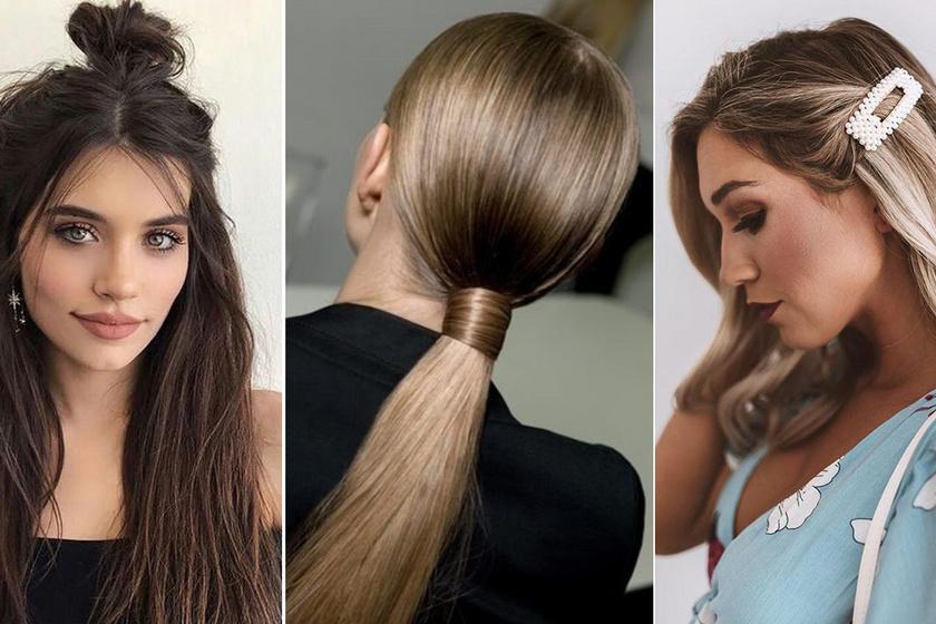 Ezerszer divatosabbak a sima copfnál most ősszel: 10 nőies frizura, ami nemcsak sikkes, de egyszerű is