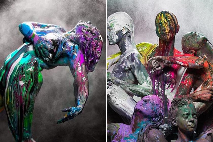Ilyen is lehet a meztelen test - Különleges fotókon mutatta meg őket a művész