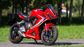 Teszt: Honda CBR650R – 2019.