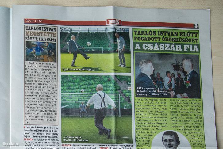 Tarlós újság Tarlós Istvánról szóló cikke. A képre kattintva a teljes oldalpárt megnézheti.