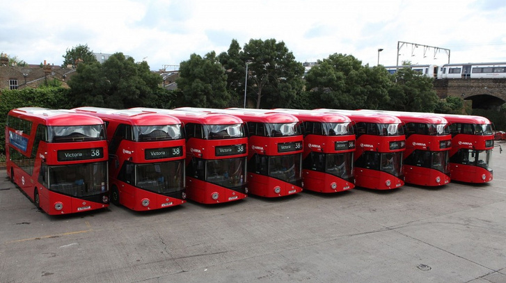 Az első nyolc Borisbus azaz az Nb4L a 2012-es londoni olimpia előtt nem sokkal