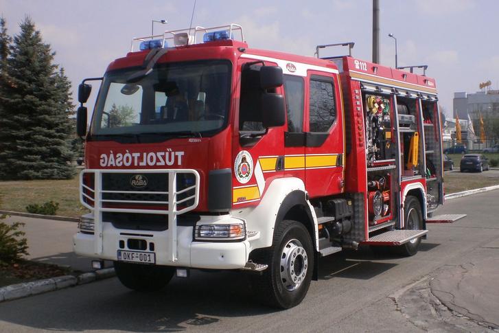 A Rába-Heros AQUADUX 4000 gépjárműfecskendő