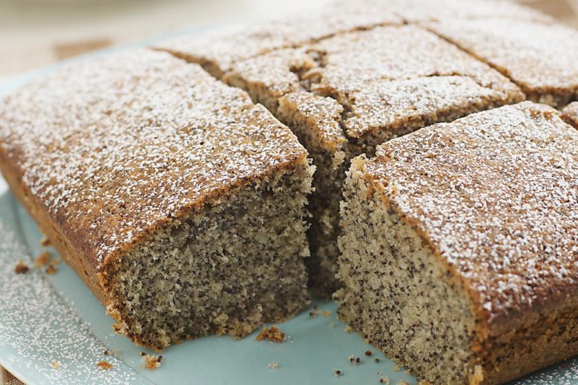 Egyszerű, bögrés mákos sütemény - Méregetés nélkül készül