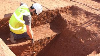 Egy exeteri buszpályaudvar alatt találtak egy ókori erődöt