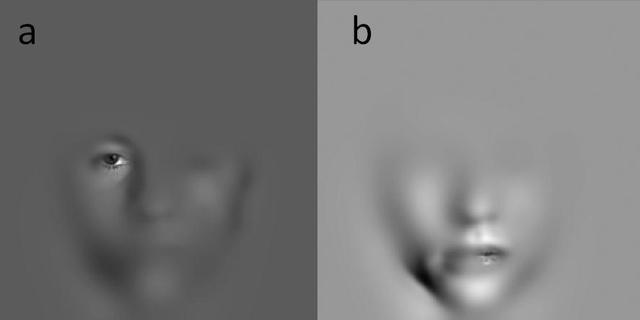 A prosopagonsiások a szájra és a száj körüli területekre néznek többet, míg az egészséges emberek a szem körüli területekre