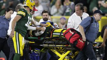 Rémisztő ütközések, több NFL-est is hordágyon vittek le a pályáról