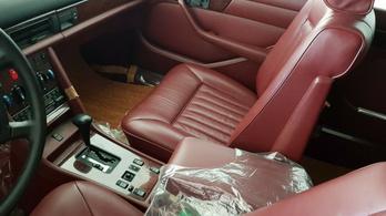 Mercedes-Benz 560 SEL 1986-ból, újonnan