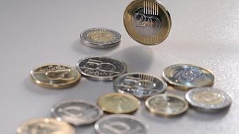 Ismét történelmi mélységben a forint árfolyama