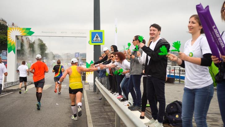 Fotó: WizzAir félmaratonon szurkolnak a kollégák
