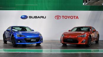 Többet akar a Subaruból a Toyota