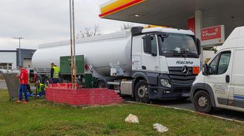 A Shell szerint a fuvarozócég okozta a Füredi úti üzemzavart
