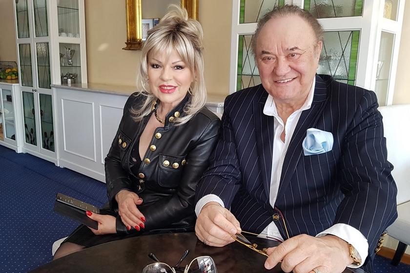 Balázs Klári közel 40 éve él boldog házasságban Korda Györggyel.