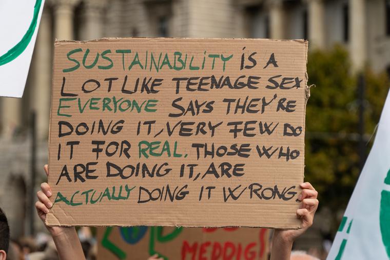 A fenntarthatóság olyan, mint a tiniszex