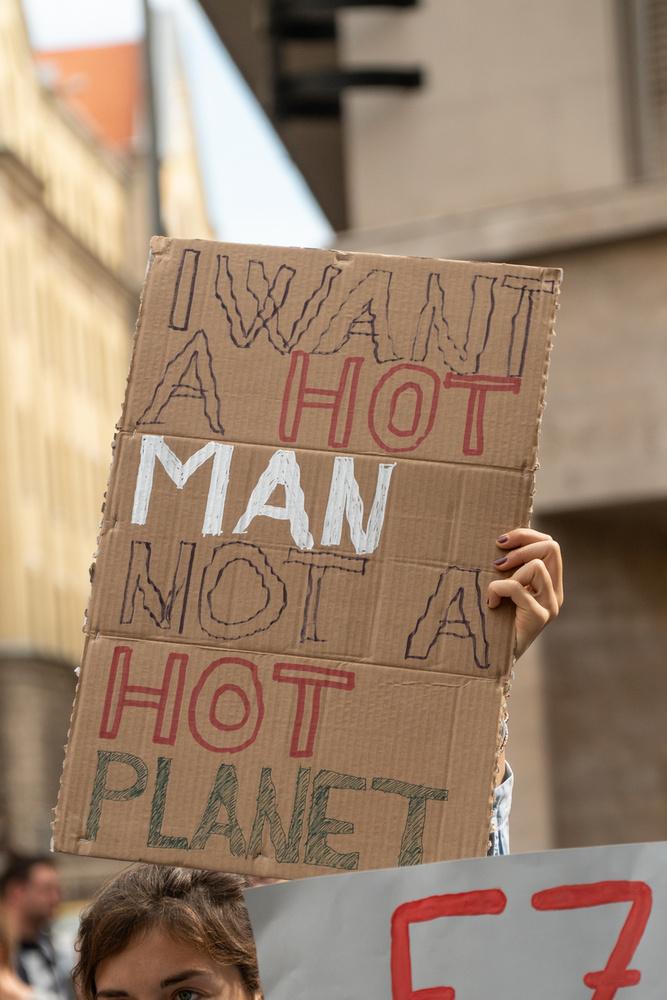 Én egy vonzó férfit akarok, nem pedig egy forró bolygót