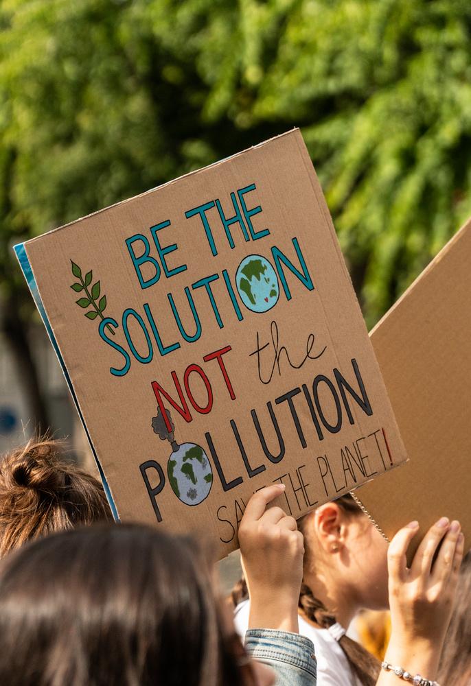 Legyél a megoldás, ne a szennyezés.