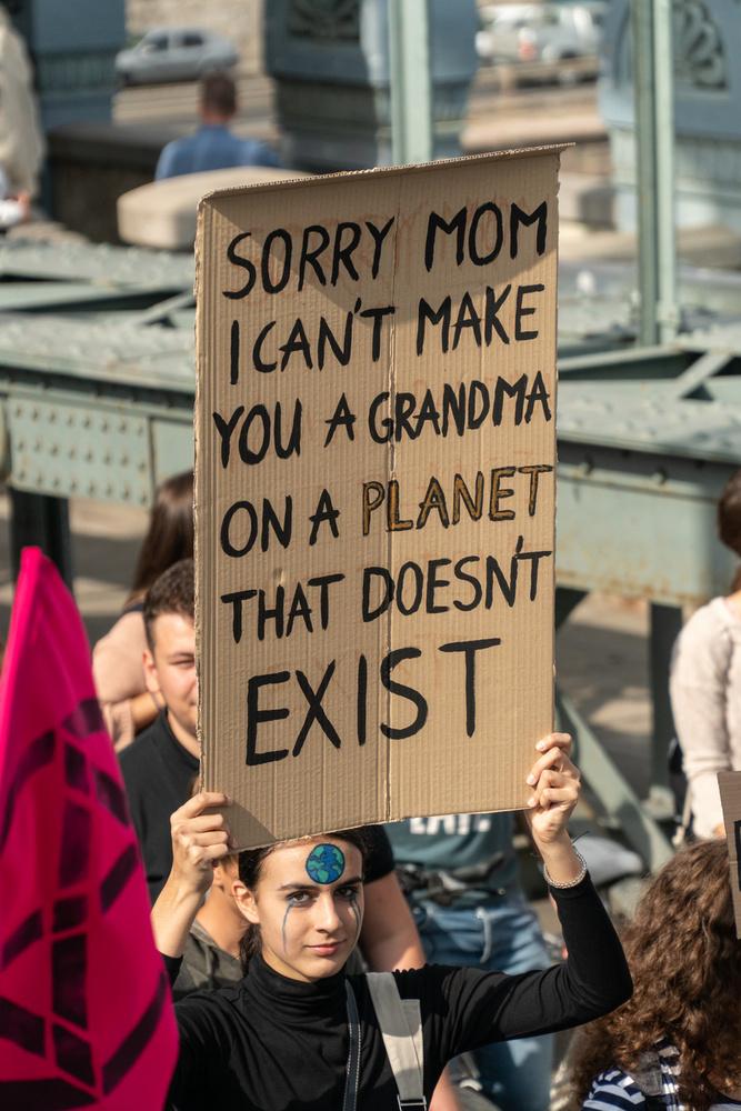 Sajnálom, anya, nem tudlak majd nagymamává tenni egy olyan bolygón, amely nem létezik.