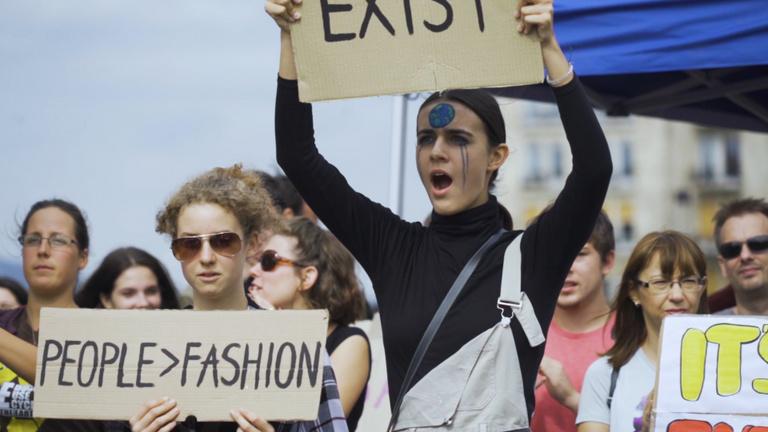 Klímasztrájk: ez lehetett az ország legfiatalabb tüntetése