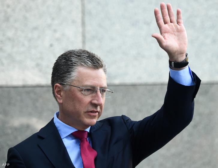 Kurt Volker, az amerikai kormány Ukrajnával foglalkozó különmegbízottja