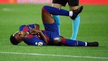 Megsérült a Barcelona csodagyereke, Messi se játszik