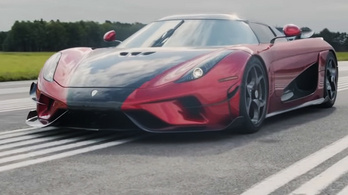 A Koenigsegg megdöntötte a leggyorsabb 0-400-0 km/h rekordját a Regerával
