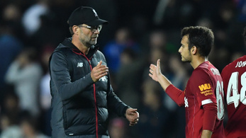 Klopp becserélt valakit, kizárhatják a Liverpoolt a Ligakupából