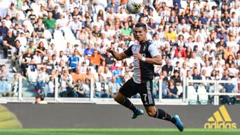 Fejesből szerzett köténygólt C. Ronaldo