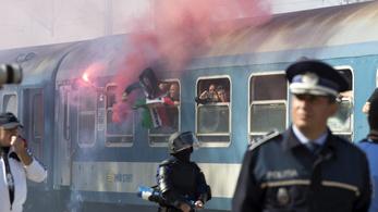 Féláron vonatozhat a Fradi EL-meccseire