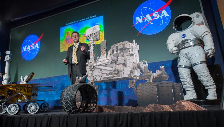 Jim Green, a Nasa kutatója