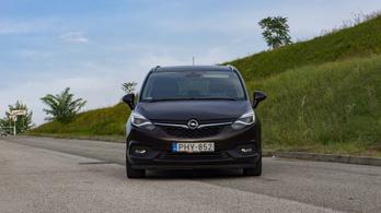 Használtteszt: Opel Zafira 1,6 DIT - 2017.